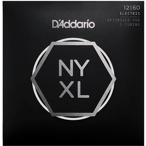 D'Addario NYXL Nickel Wound Electric Guitar String Extra Heavy 12-60