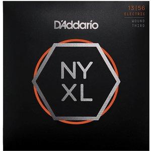 D'Addario NYXL1356W - NYXL Nickel Wound Electric Guitar Strings Medium Wound 3rd 13-56
