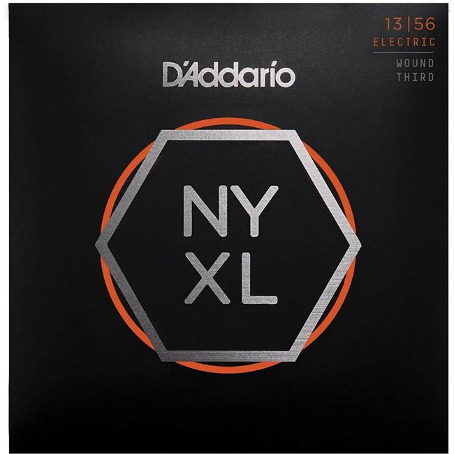 NYXL Nickel Wound Electric Guitar Strings Medium Wound 3rd 13-56