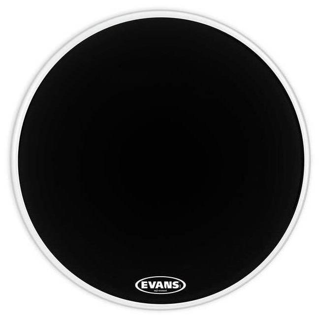"""Evans 20"""" Bass Drum Head EQ3 RES BLACK NO PORT"""