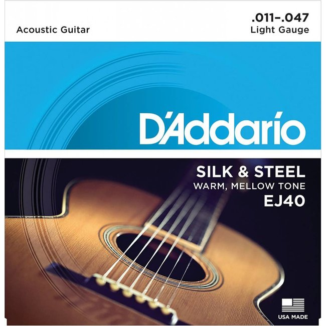 Silk & Steel Folk Guitar Strings 11-47