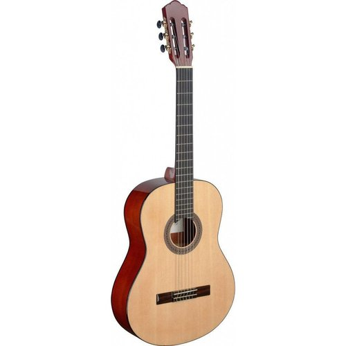 Angel Lopez Mencia series classical guitar with solid spruce top