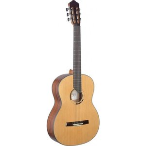 Angel Lopez Eresma series classical guitar with solid cedar top