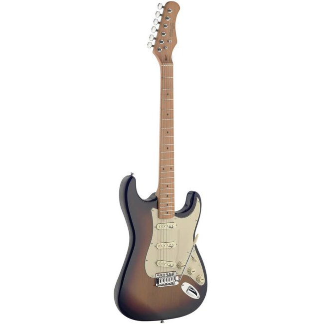 Stagg Electric guitar with solid alder body