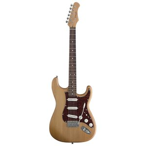 Stagg S300-NS Standard Electric Guitar - Natural Satin
