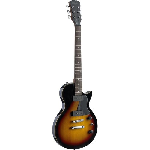 """Stagg Rock """"L"""" Series P90 electric guitar with solid alder body"""