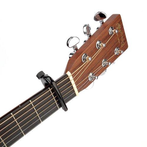 D'Addario Planet Waves Black NS Capo 6/12 String Guitars