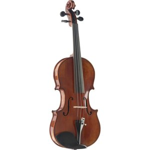 Stagg VN-3/4 HG  Hand-Varnished Solid Flamed Maple Violin with Deluxe soft-case