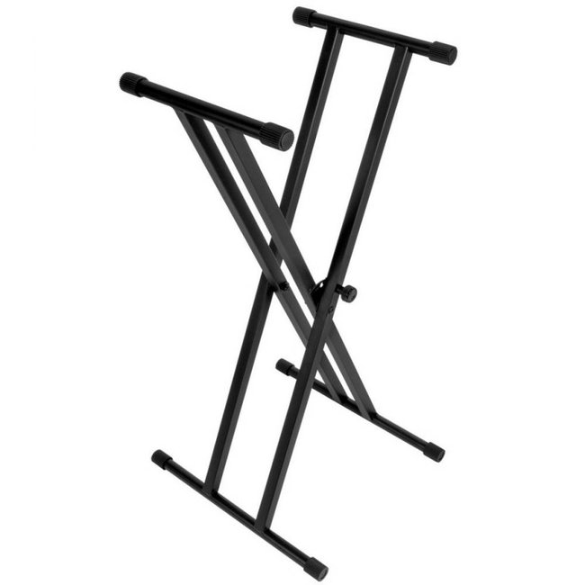 On-Stage Stands Double-X Keyboard Stand -200lbs