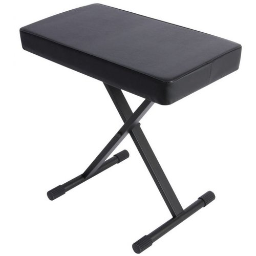 On-Stage Stands X-Style Bench -3in Cushion -360lbs