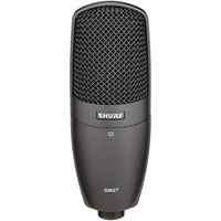 SM27-SC Cardioid Condenser Microphone with A27SM & Pouch - Black