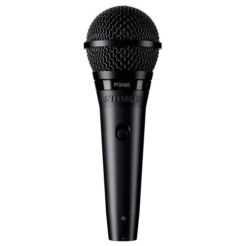 Shure PGA58 with XLR & Mic Stand Package
