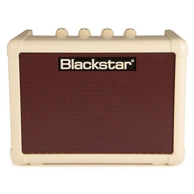 Blackstar Fly3VINT Vintage Cream Oxblood Front 3 Watt Battery Powered Guitar Amp