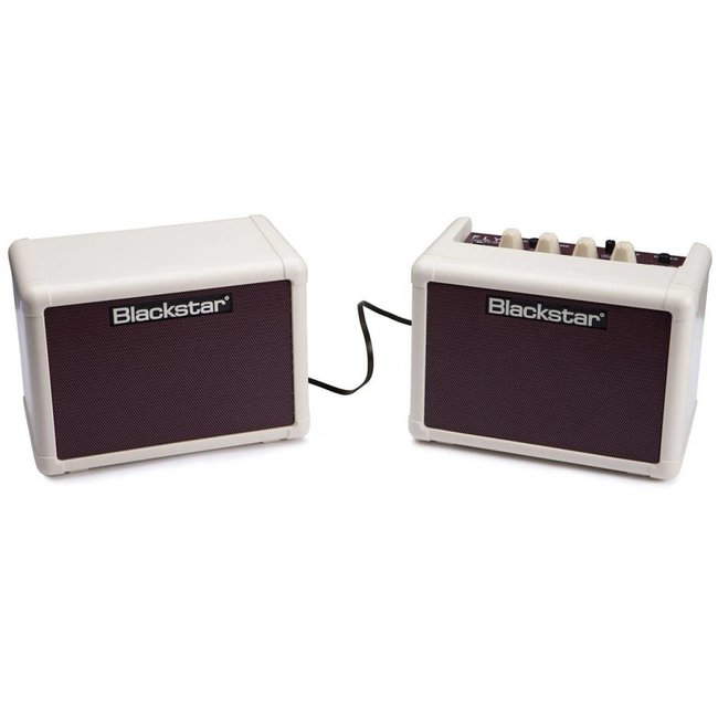Blackstar Vintage Cream Oxblood Front Amp, Stereo Cab & PSU Bundle