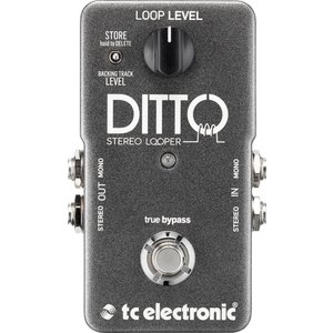 TC Electronic TC-DITTOSTEREOLOOP Ditto Stereo Looper