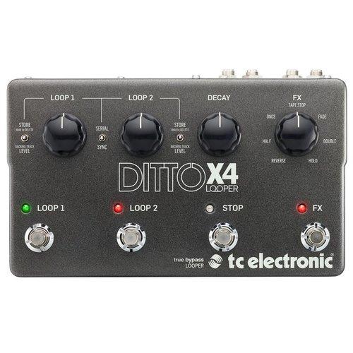 TC Electronic TC-DITTOX4LOOPER Ditto X4 Looper