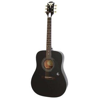 Epiphone EAPR-EBCH Pro-1 Acoustic Guitar - Ebony (USED)
