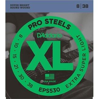 EPS530 XL ProSteels Round Wound, Extra-Super Light, 8-38