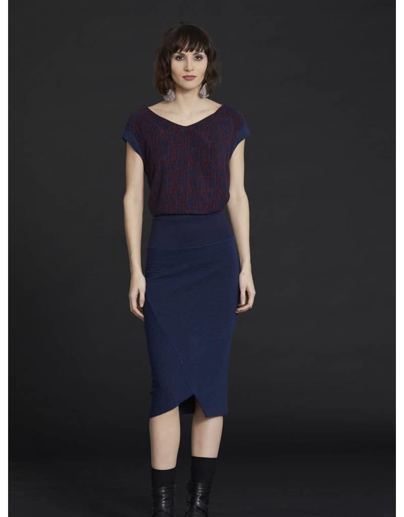 Cokluch Ruby Pencil Skirt
