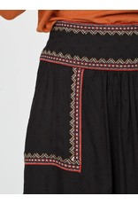 Indi & Cold Embroidered Flare Skirt