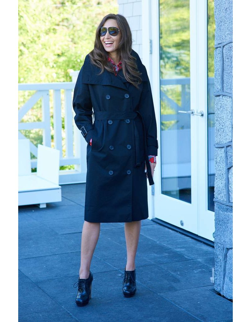 TheLoom Highneck Trench Coat