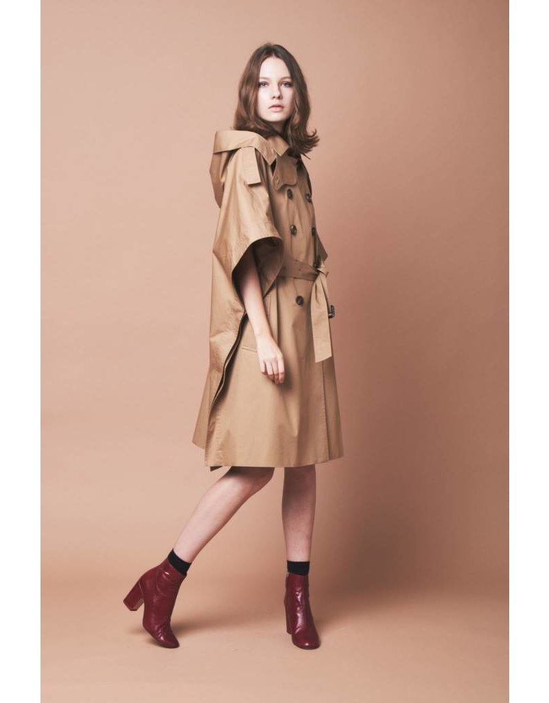 TheLoom Trench Cape (BLACK ONLY)