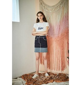 Maison De Ines Mini Skirt Denim