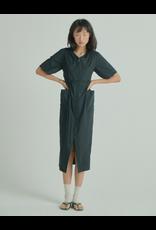 Wnderkammer Midi Dress Black