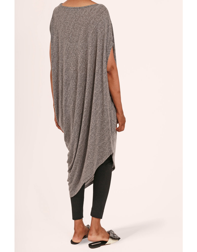 Ayrtight Olympia Asymmetrical Dress Grey