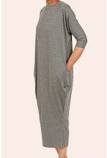 Ayrtight Royce Lyon Midi Dress Grey