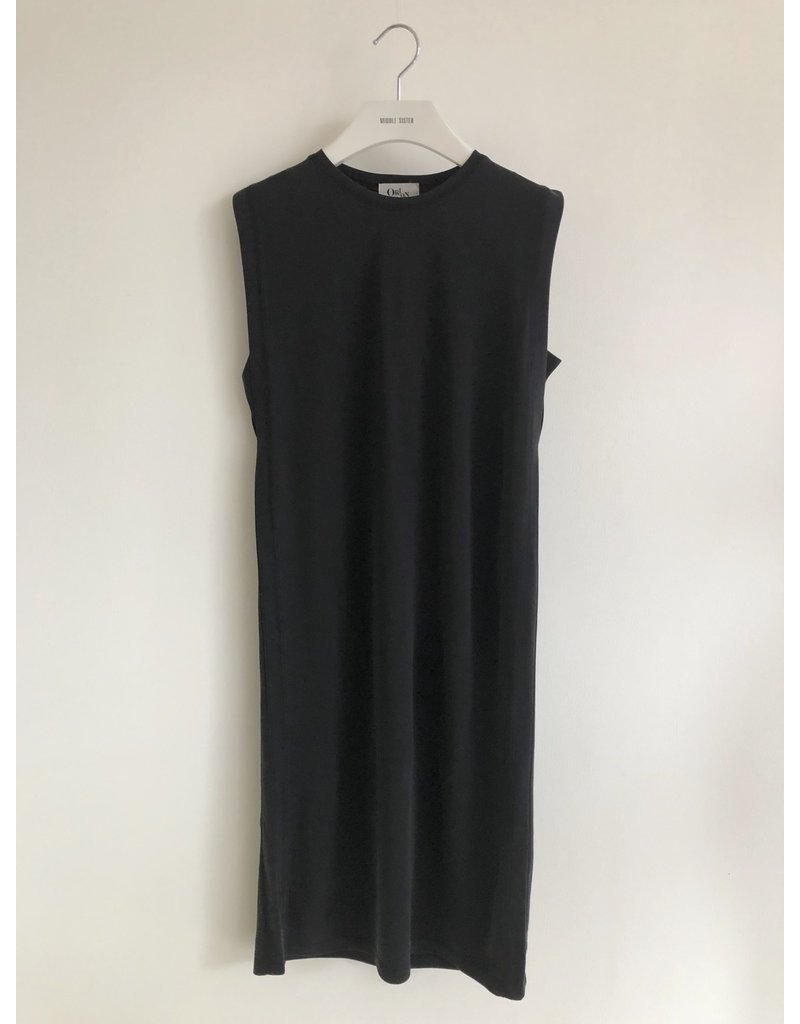 Orion Marjorie Sleeveless Dress Black