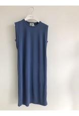 Orion Marjorie Sleeveless Dress Blue