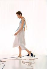 UR NAVY  Walking on Cloud Dress Cream