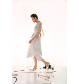 UR NAVY Walking on Cloud Dress Cream