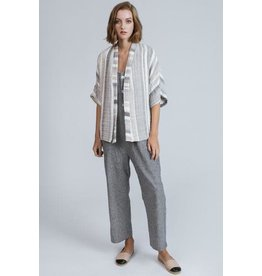 Allison Wonderland Morocco Wrapper Cardigan Striped