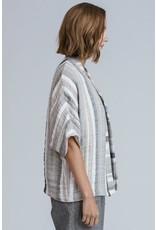 Allison Wonderland Morocco Wrapper Cardigan Striped
