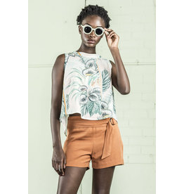 Bodybag Hudson Sleeveless Top Tropical Print