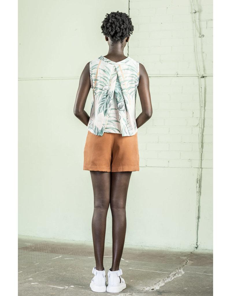 Bodybag Hudson Sleeveless Top Tropical Print