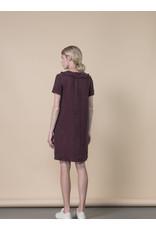 Jennifer Glasgow Comeau Shift Eggplant Dress