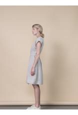 Jennifer Glasgow Laguna Mini Pleated Sand Dress
