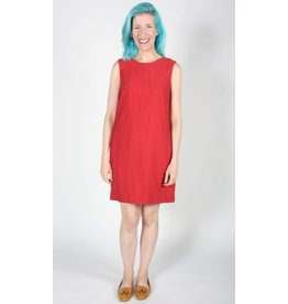 Birds of North America Grenadier Vneck Dress Poppy