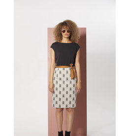 Cokluch Onzuka Plant Print Dress