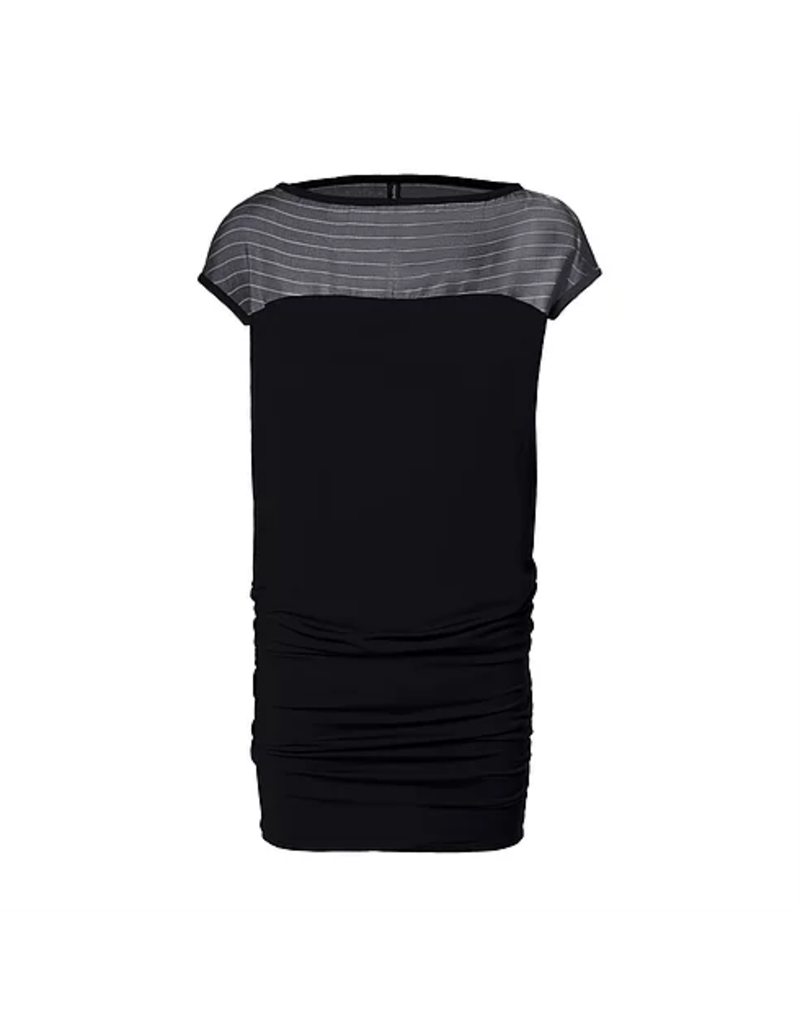 Melow  Yama Shift Tapered Black Dress