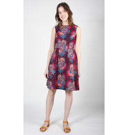 Birds of North America Peafowl Dress Third Eye Red