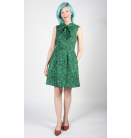 Birds of North America Redpoll Dress Evergreen