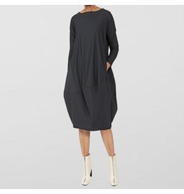 Ayrtight Index Duma Cocoon Dress Black