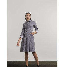 Jennifer Glasgow Matamba Dress Lavender Print