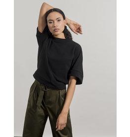 Jennifer Glasgow Razia Batwing Sweatshirt Black