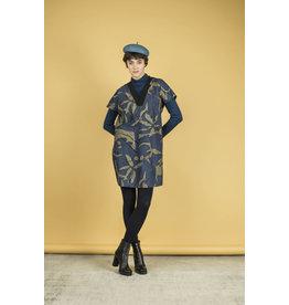 Bodybag Lawrence Vneck Dress Blue