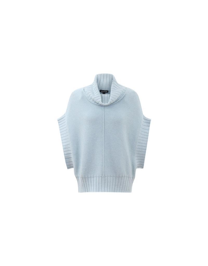 Marble Shortsleeve Sweater Grey